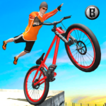 Rooftop BMX Bicycle Tracks 3D APK