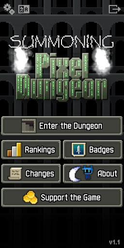 Summoning Pixel Dungeon ss 1