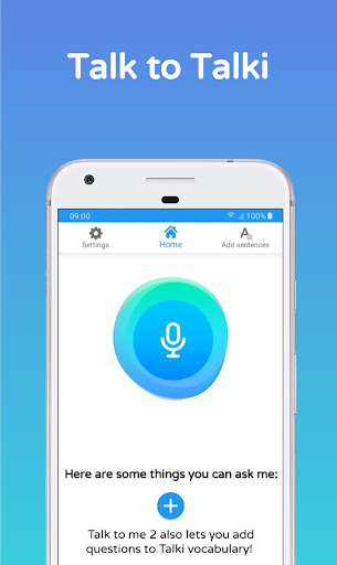 Talk to me – Talki Your personal assistant ss 1