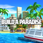 Tropic Paradise Sim: Town Building City Game APK
