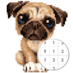 Unicorn Pug – Color By Number & Pixel No Draw APK