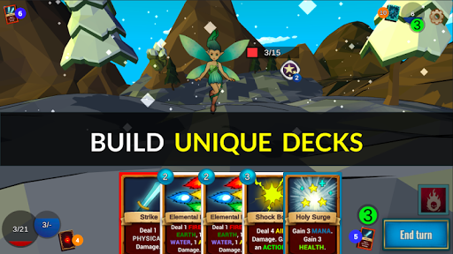 Quest Lands Slay the Titan – Roguelike Card RPG ss 1