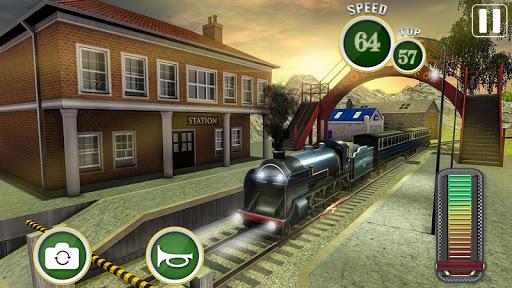Rapide Euro Train Driver SimJeux de Train 3D 2018 ss 1