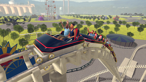 Roller Coaster Games 2020 Theme Park ss 1