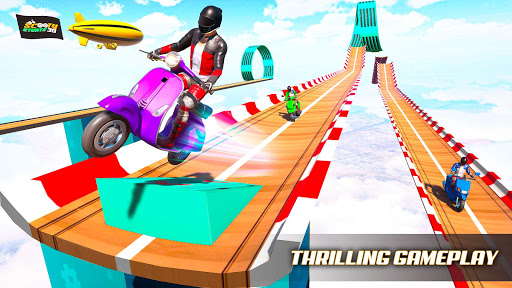 Scooter Stunts 3D Mega Ramp Stunt Bike Game ss 1