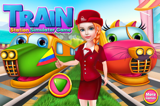 Train Station Simulator Game – Fun Games for Kids ss 1