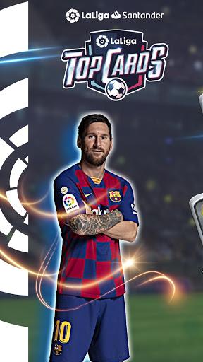 LaLiga Top Cards 2020 – Jeu de cartes de football ss 1