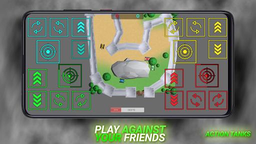 Action Tanks jeu de chars pour 2 4 joueurs ss 1