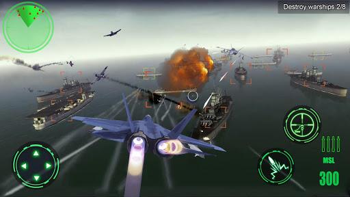 Avion de guerre 3D ss 1
