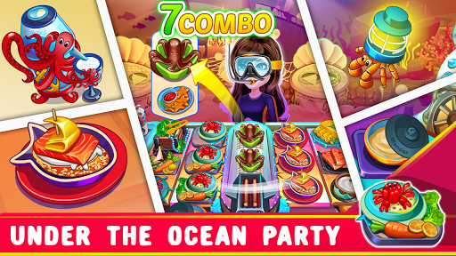 Cooking Party Restaurant Craze Chef Cooking Games ss 1