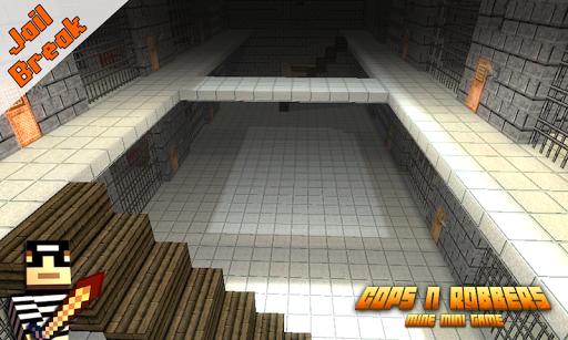 Cops N Robbers Pixel Prison Games 1 ss 1