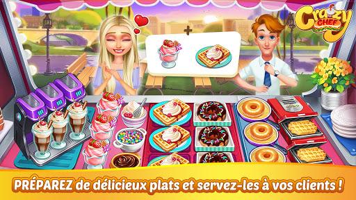 Crazy Chef jeu de cuisine rapide ss 1