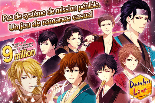 Dateless Love Otome games franais – jeux damour ss 1