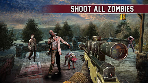Dead Shooting Target – Zombie Shooting Games Free ss 1
