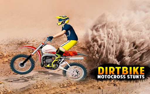 Dirt Bike Cop Race Free Flip Motocross Racing Game ss 1