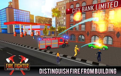 Firefighter Truck 911 Rescue Emergency Driving ss 1