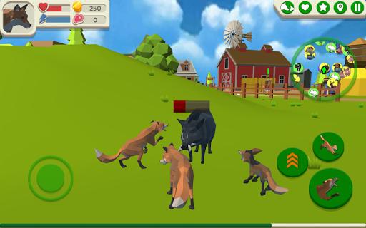 Fox Family – Animal Simulator 3d Game ss 1