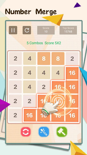 NumTrip – 2048 number merge block puzzle game ss 1