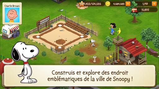 Peanuts Snoopy Ville Simulateur de Construction ss 1