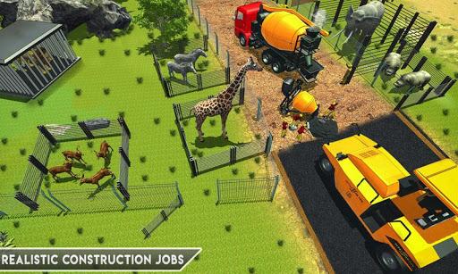 Simulateur De Construction De Zoo Animalier ss 1