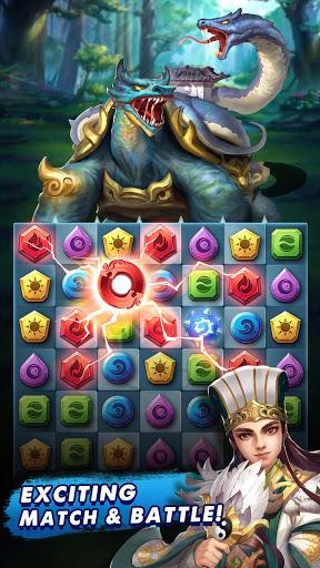 Three Kingdoms amp Puzzles Match 3 RPG ss 1
