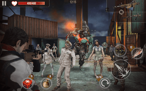 ZOMBIE SURVIVAL Shooting Game ss 1