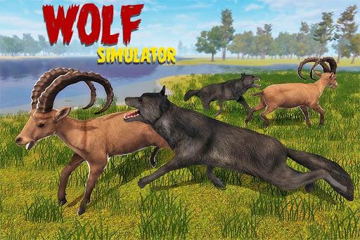 simulateur de loup jeu de jungle sauvage ss 1