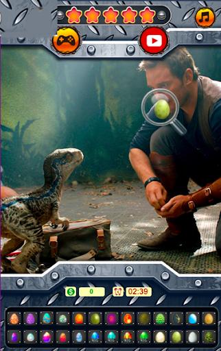 ufs cachs du monde des dinosaures – jeu Le monde ss 1