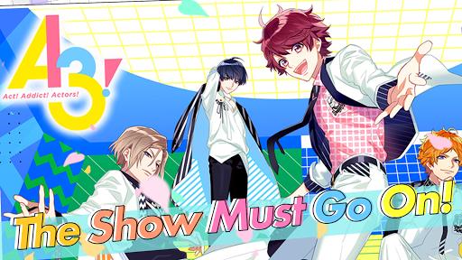 A3 Otome Anime Game ss 1