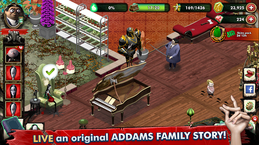 Addams Family Mystery Mansion – The Horror House ss 1