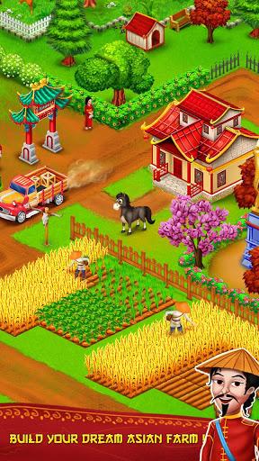 Asian Town Farm Offline Village Farming Game ss 1