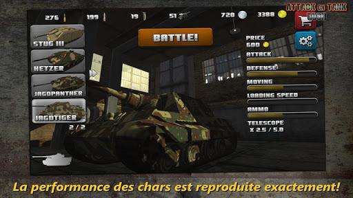Attaque sur Char Rush – World War 2 Heroes ss 1