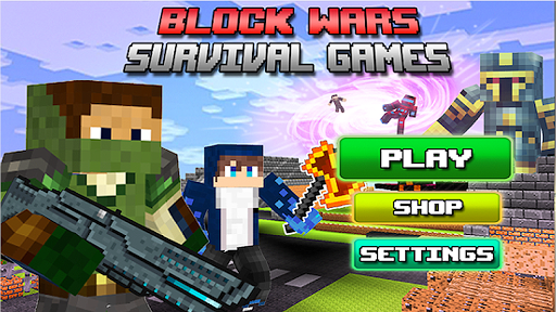 Block Wars Survival Games ss 1