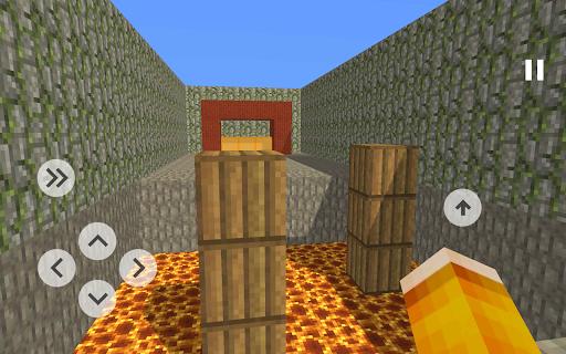 Blocky Parkour 3D ss 1
