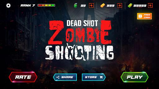 DEAD SHOT Zombie Shooter FPS 3D ss 1