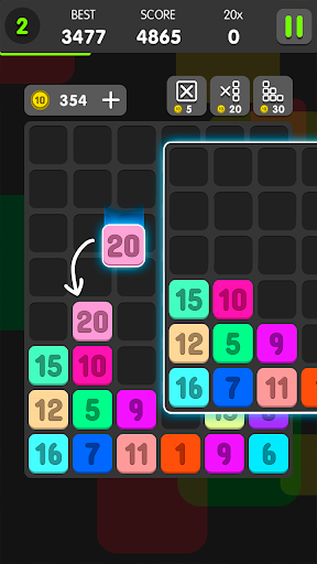 Drag And Merge Puzzle ss 1