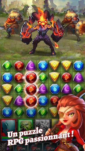 Dragon Strike Puzzle RPG ss 1
