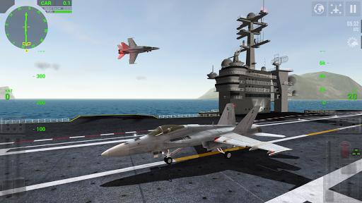 F18 Carrier Landing Lite ss 1
