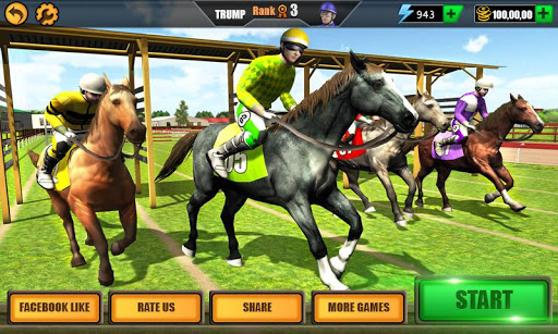Horse Riding Rival Multiplayer Derby Racing ss 1