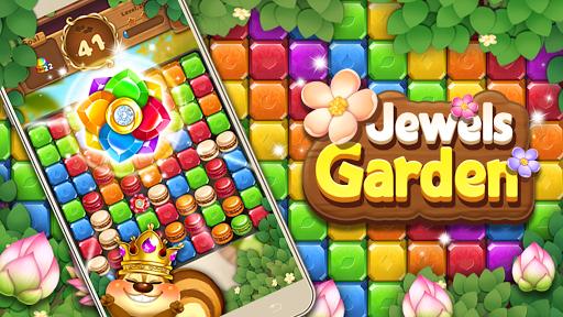 Jewels Garden Blast Puzzle Game ss 1