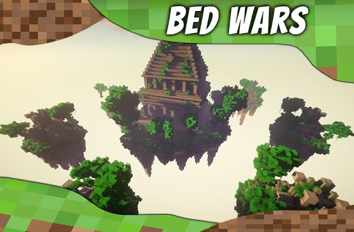 Maps BedWars for MCPE. Bed Wars Map. ss 1