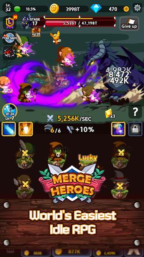 Merge Heroes Frontier Casual RPG Online ss 1