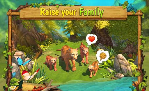 Mountain Lion Family Sim Animal Simulator ss 1