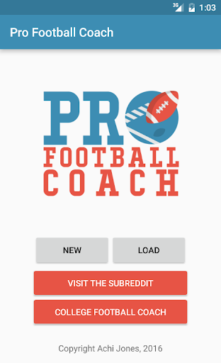 Pro Football Coach ss 1