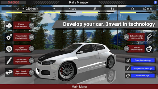 Rally Manager Mobile Free ss 1
