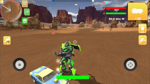 Robot War Free Fire – Survival battleground Squad ss 1