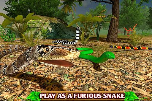 Simulateur de serpent furieux ss 1