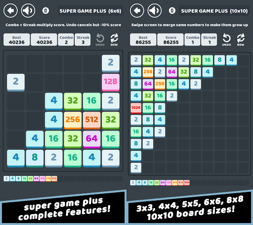 Super Game Plus – Numbers Merge Puzzle ss 1