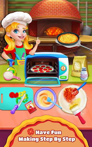Sweet Pizza Shop – Cooking Fun ss 1