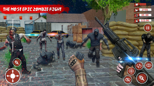 Zombie Target Death Survival Dead Shooting Games ss 1